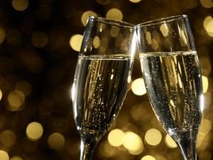 champagne-glas